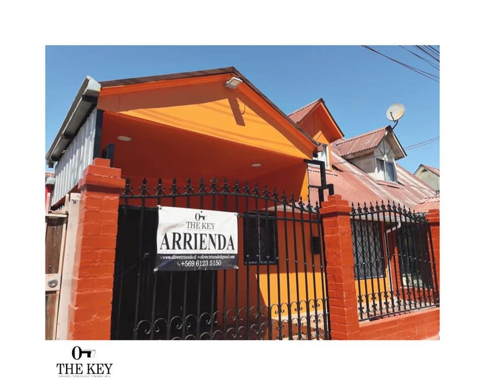 Casa en Villa Pucara 5 de Talca – ARRIENDO con opción COMPRA